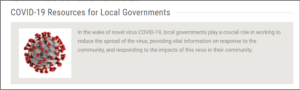 Local Government COVID Info