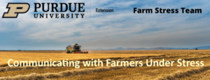 Purdue Farm Stress Team Image