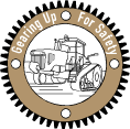 Gearing Up for Safety logo