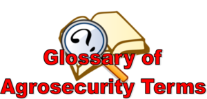 Glossary Agrosecurity Logo