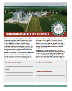 safety inventory cover page