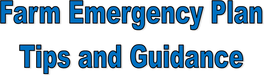 Tips and Guidance for Emergency Plans