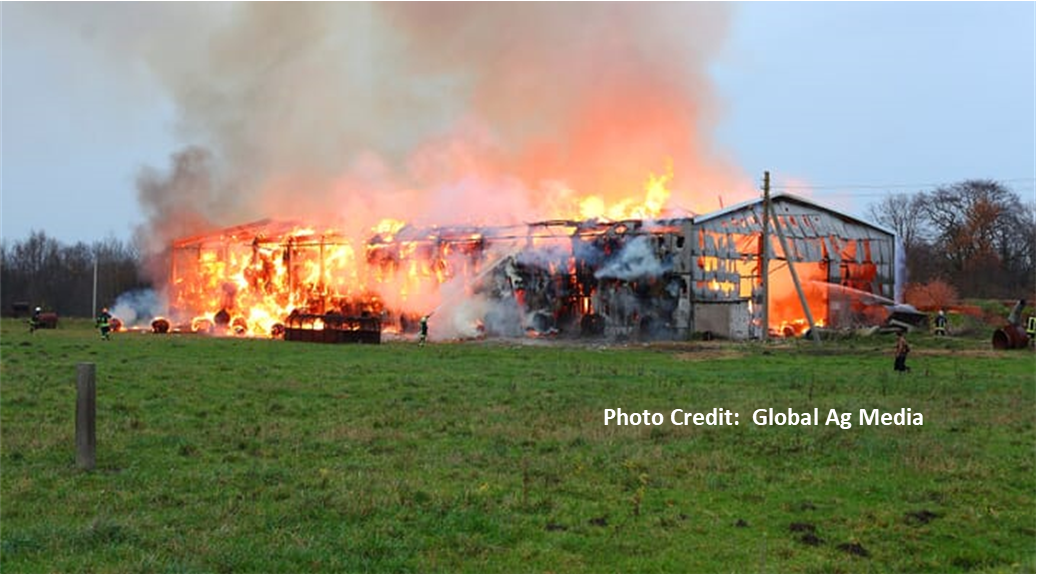 Barn fire global ag media