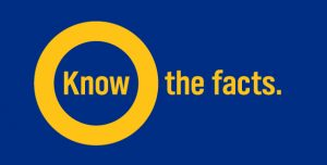 KnowTheOFacts_Logo_Yellow_onBlue